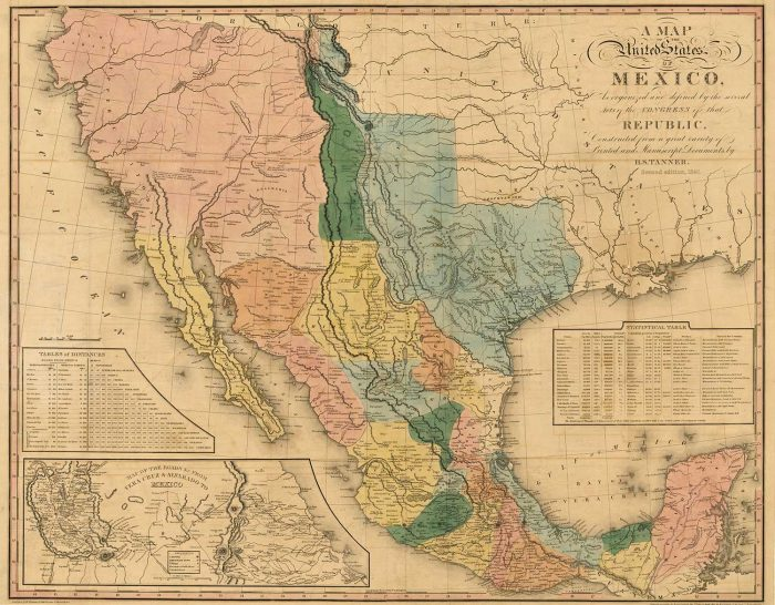 A Map of the United States of Mexico