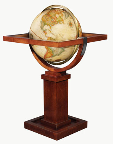 The Frank Lloyd Wright Floor Globe