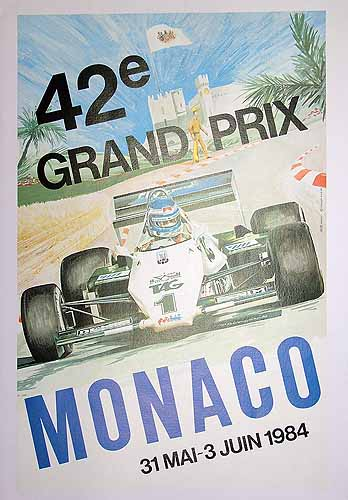 42nd Grand Prix Monaco - 1984