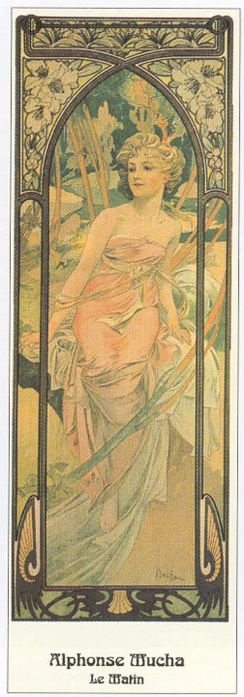 Alphonse Mucha - Le Matin