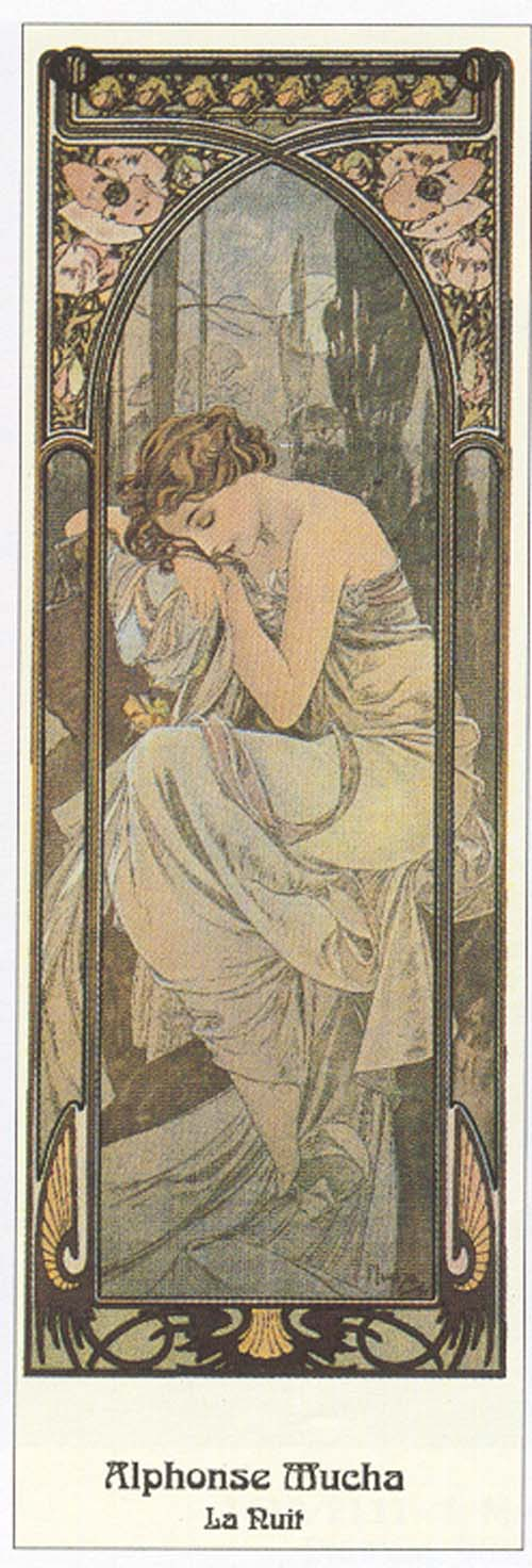 Alphonse Mucha - Le Ruit
