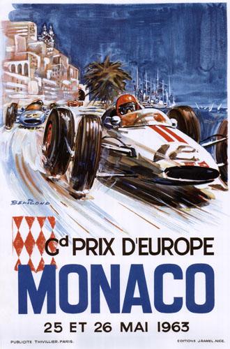 GRAND PRIX MONACO 1963