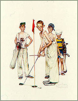 Norman Rockwell - Missed