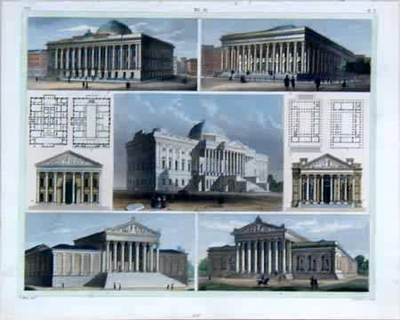 Examples of Roman-Greek Architechture