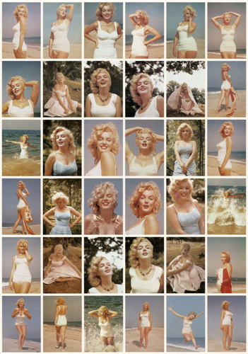 Marilyn Monroe Postcards Poster