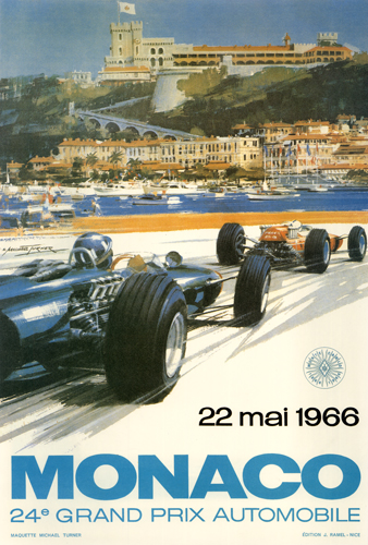 22 mai 1966 Monaco 24th Grand Prix Automobile
