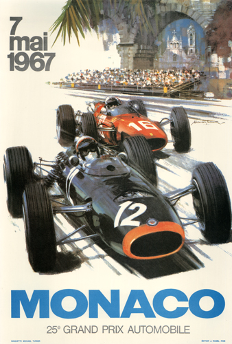 7 mai 1967 Monaco 25th Grand Prix Automobile