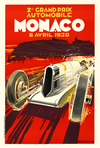 2nd Grand Prix Automobile Monaco 6 Avril 1930