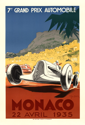 7th Grand Prix Automobile Monaco 22 Avril 1935