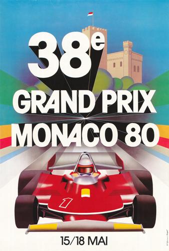38th Grand Prix Monaco 80 15/18 Mai