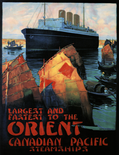 Canadian Pacific Steamships - Largest and Fastest to the Orient