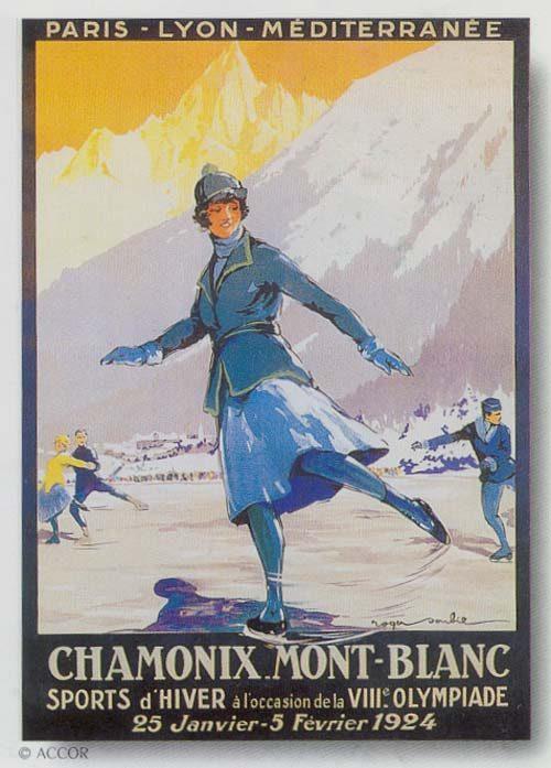 Chamonix - Ice Skater