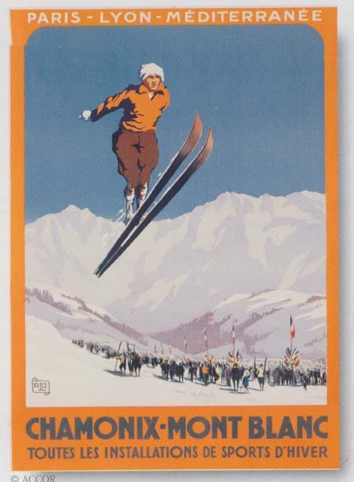 Chamonix - Ski Jumper