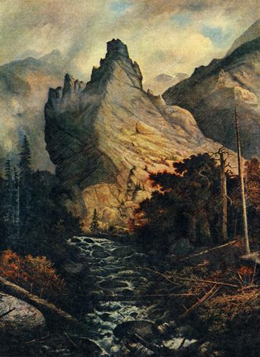 Albert Bierstadt's Eldorado Canyon