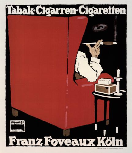 Tabak-Cigarren-Cigaretten - Franz Foveaux Koln