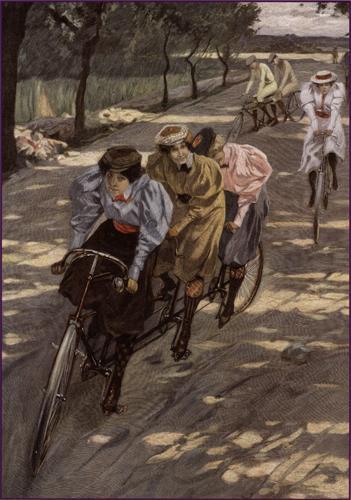 Ladies Tandem Bike
