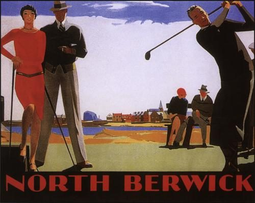 North Berwick Golfing