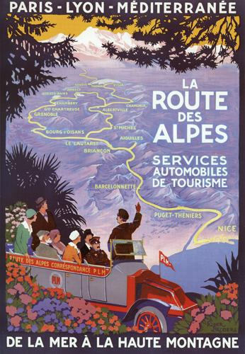 Le Route Des Alpes