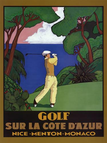 Golf Sur La Cote D'Azur
