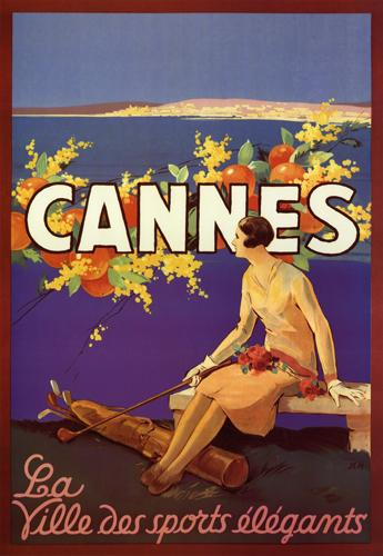 Cannes - La Ville des sports elegants