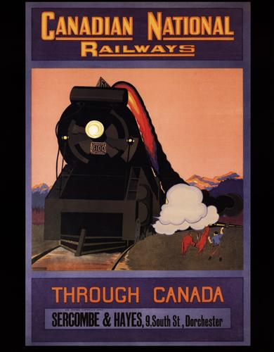 Canadian National Railways - Through Canada