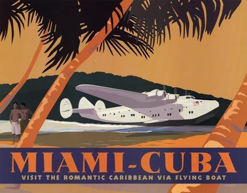 Miami-Cuba - Visit the Romantic Caribbean Via Flying Boat