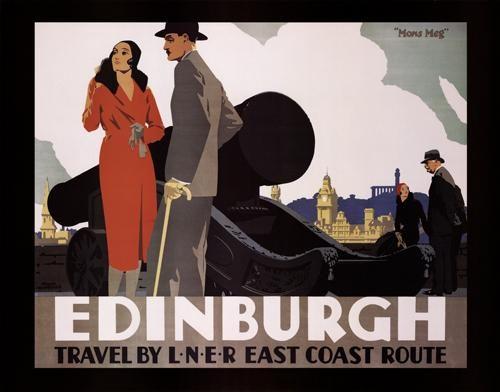 Edinburgh - Travel by LNER East Coast Route -