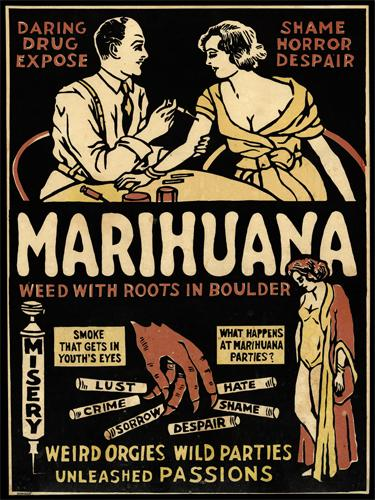 Marihuana - Weed with Roots in Boulder