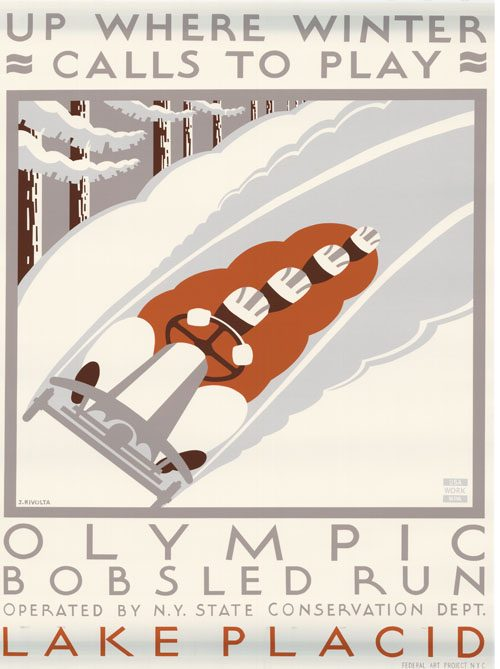 Up where winter calls to play Olympic bobsled run Lake Placid