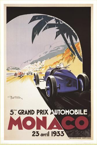 Monaco Grand Prix Automobile April 23