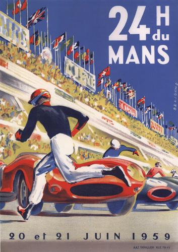 24 H du Mans 20 et 21 Juin 1959