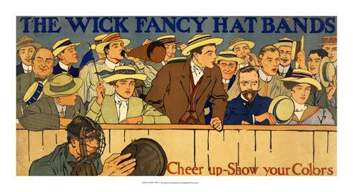 The Wick Fancy Hat Bands