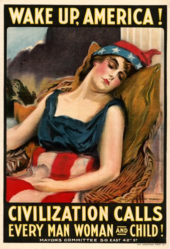 Wake Up America! Civilization Calls Every Man