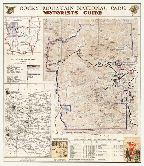 Rocky Mountain National Park Motorists Guide