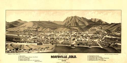 Bird's Eye View of Maysville