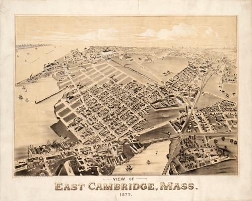View of East Cambridge