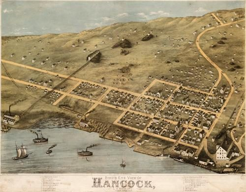 Bird's Eye View of Hancock
