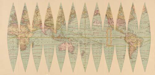 Rand McNally & Co.'s Twelve Inch Globe Map