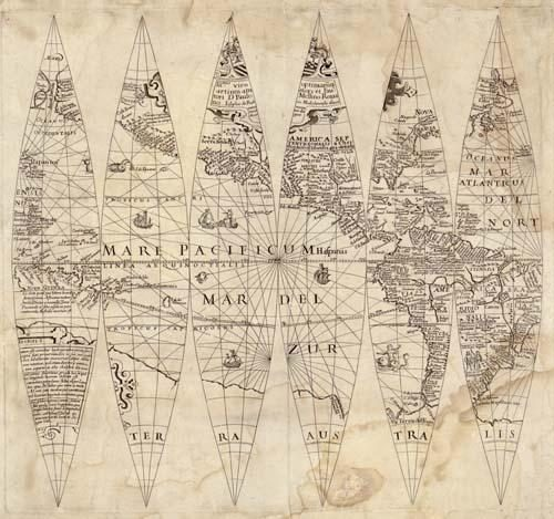 Terrestrial Globe Gores