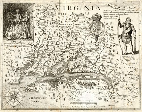 John Smith's Map of 1612