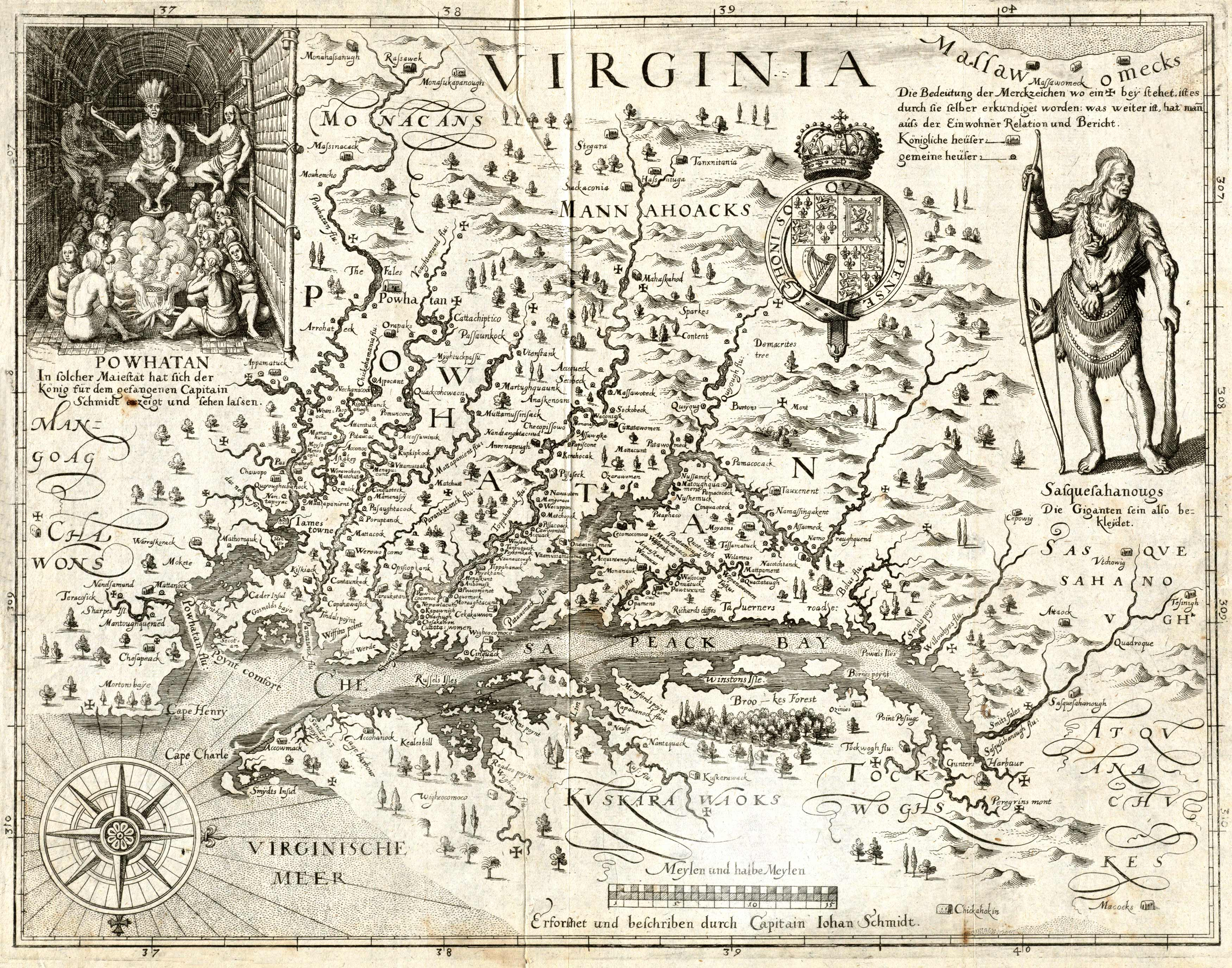 John Smith's Map of 1612
