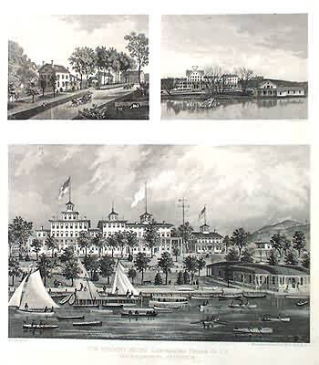 Three Prints of Buildings in Putnam County