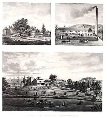 Three Prints of Buildings Putnam Co.