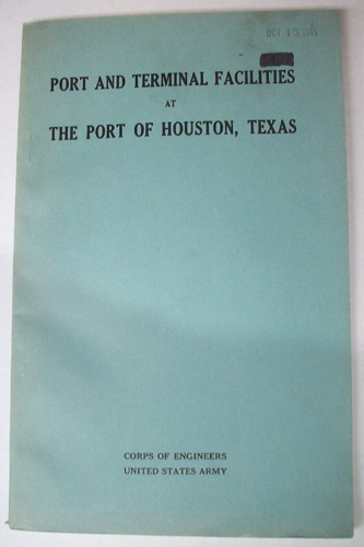 Port and Terminal Facilities at the Port of Houston