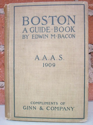 BOSTON A GUIDE BOOK