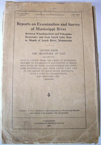 Reports on Examination and Survey of Mississippi River