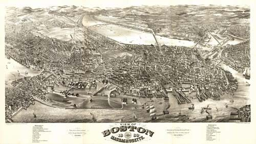 Boston Massachusetts: 1880