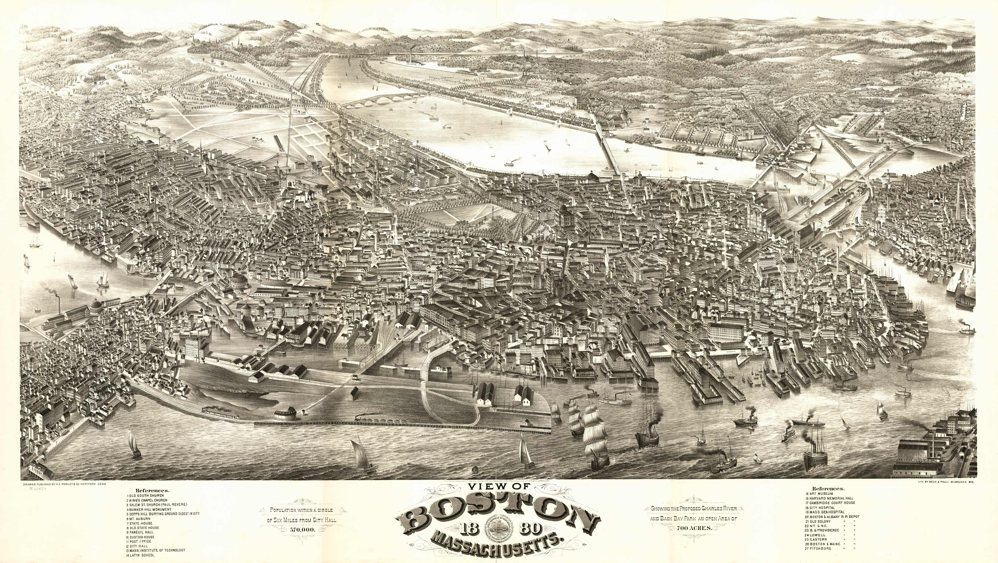 Boston Massachusetts: 1880