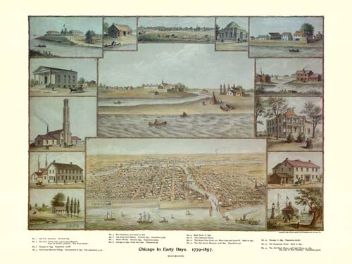 Chicago in the Early Days 1779-1857