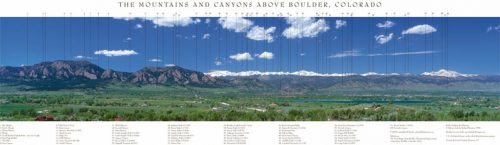 The Mountains and Canyons Above Boulder